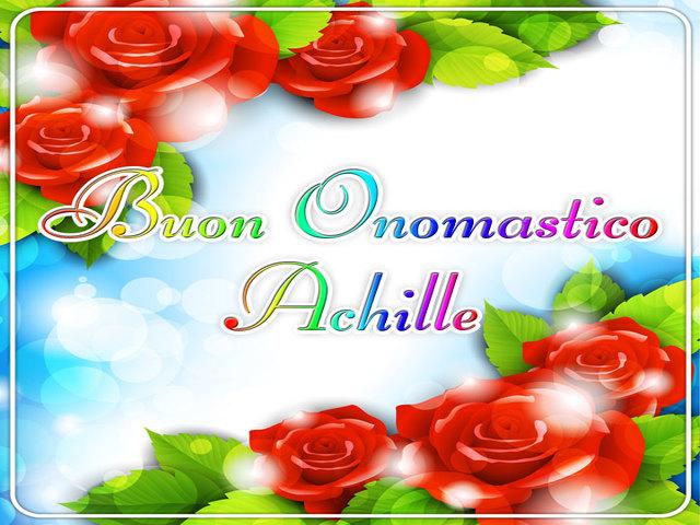Achille-Buon-Onomastico