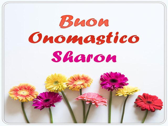 Buon-Onomastico-Sharon