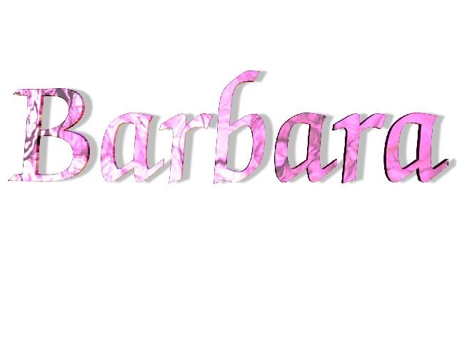 Nome Barbara origine e significato