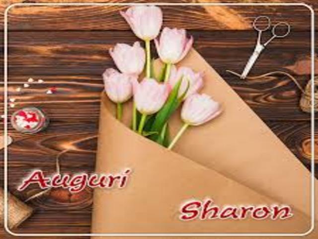 Onomastico-Sharon1