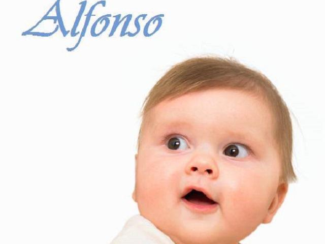 Alfonso significato