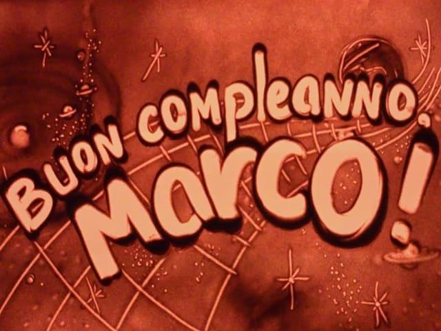 Auguri buon compleanno Marco