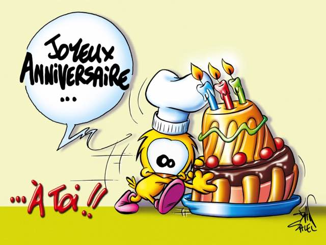 auguri compleanno in francese