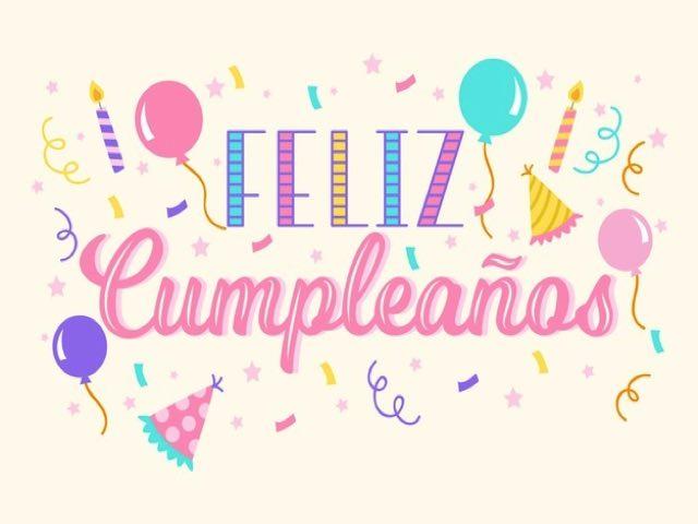 auguri compleanno in spagnolo