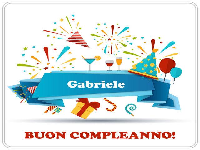 buon compleanno Gabriele