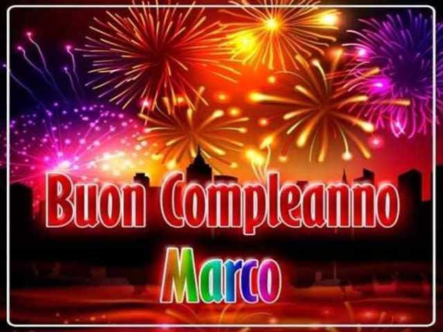 Buon Compleanno Marco Auguri Divertenti E Romantici A