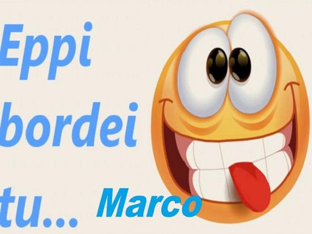 Buon compleanno Marco divertenti