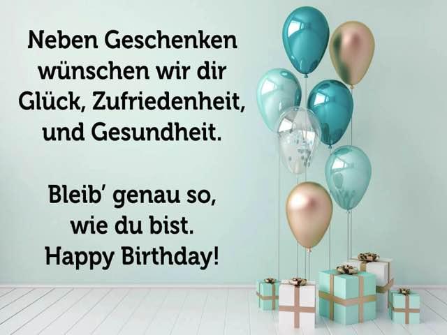 buon compleanno tedesco