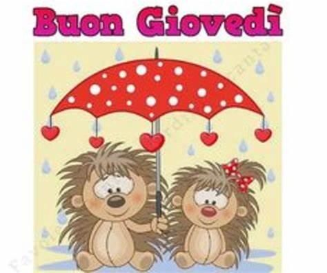 buon giovedi piovoso