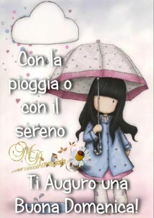 buona domenica piovosa