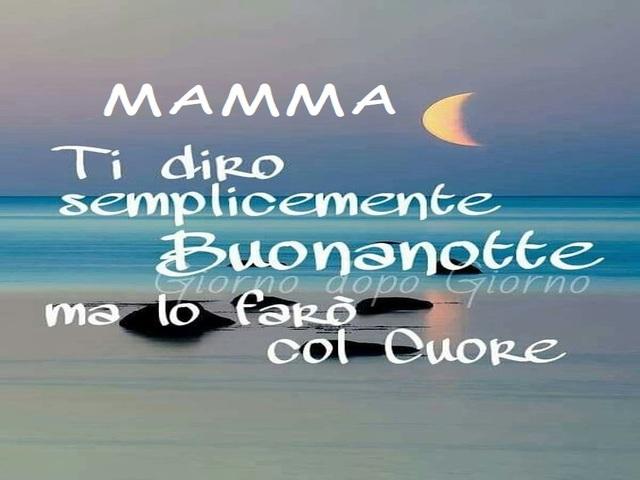 buonanotte alle mamme