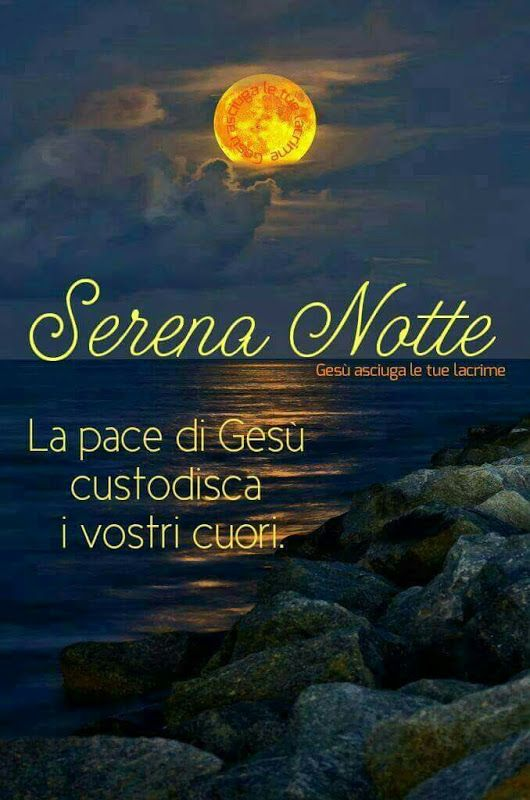 buonanotte con Dio