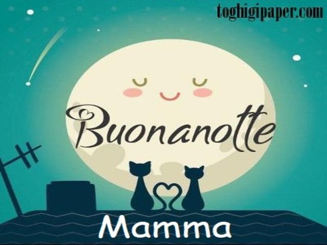 buonanotte mia mamma