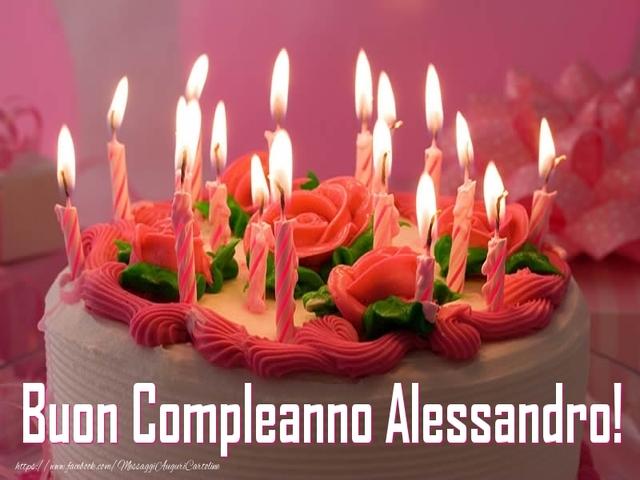 compleanno alessandro torta