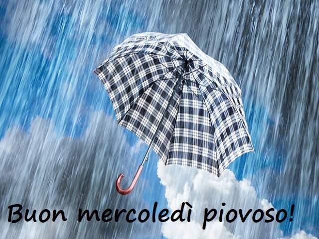 foto buon mercoledi piovoso