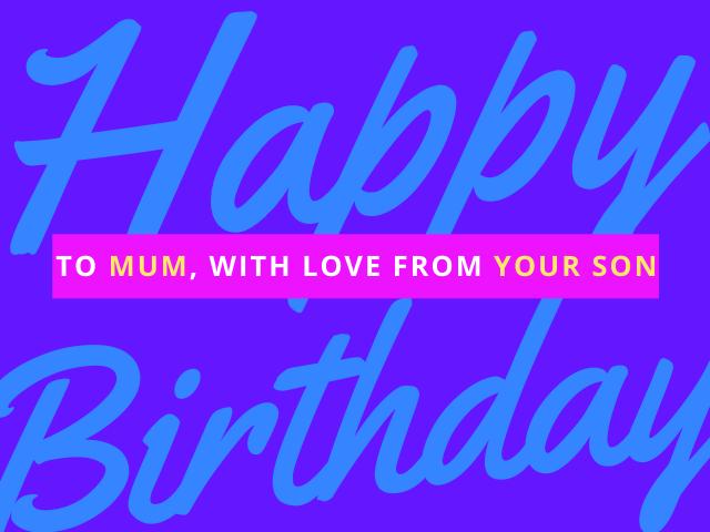 frasi per il compleanno mamma
