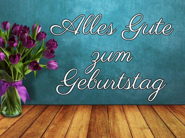 immagini buon compleanno in tedesco