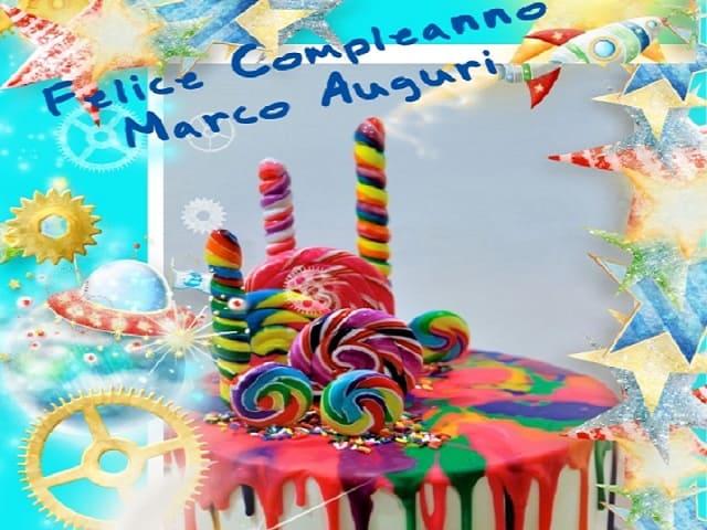 Immagini buon compleanno Marco