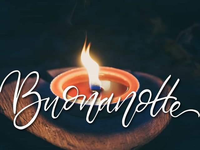 immagini buonanotte candela