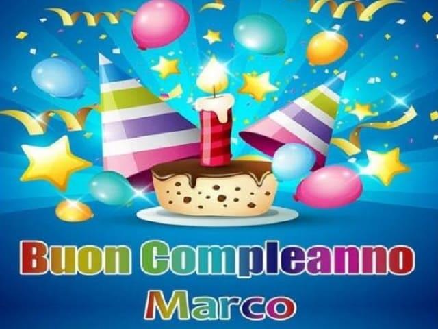 Immagini di buon compleanno Marco