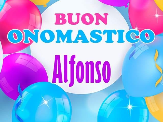 onomastico Alfonso