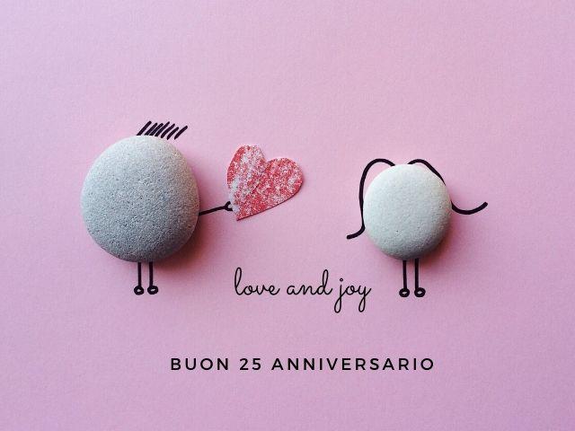 Auguri 25 anni matrimonio