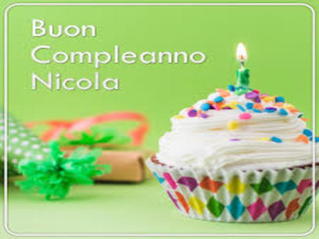 Compleanno nicola