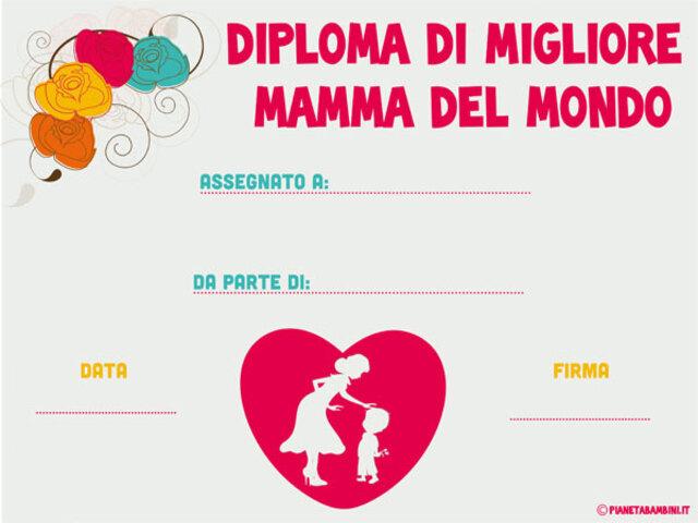 Diploma Festa Della Mamma 10