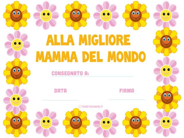 Diploma Festa Della Mamma 13