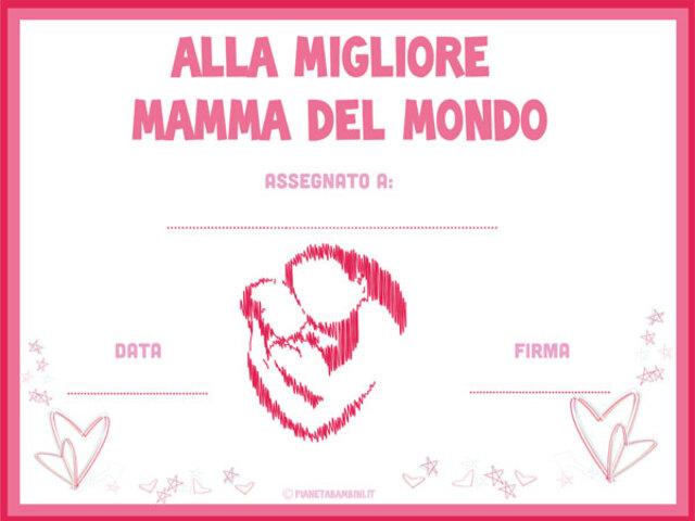 Diploma Festa Della Mamma 14