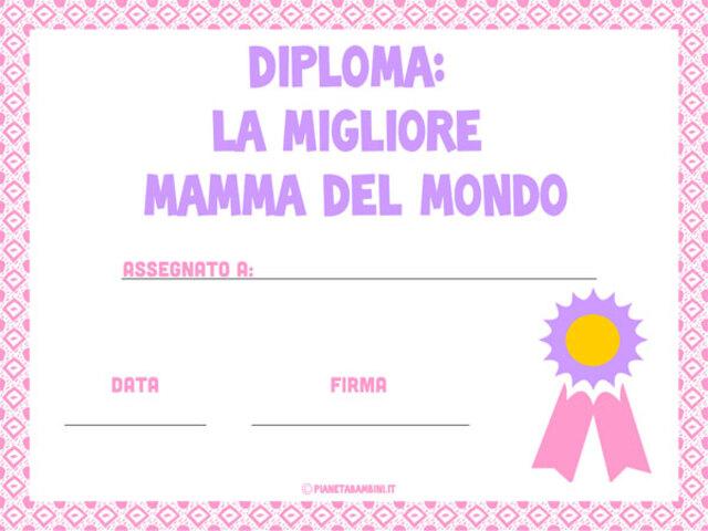 Diploma Festa Della Mamma 15