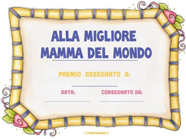 Diploma Festa Della Mamma 16