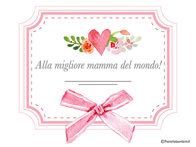 Diploma Festa Della Mamma 4