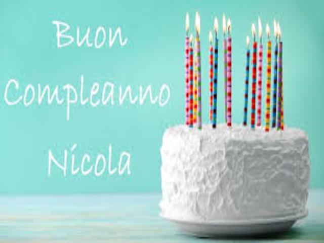 Nicola compleanno