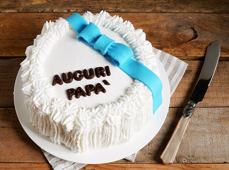 Torta auguri papà