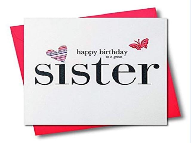 auguri di buon compleanno sorellina mia