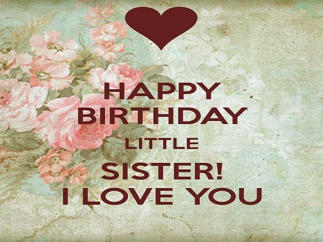 auguri di compleanno sorellina