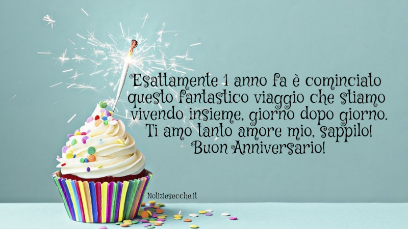 buon anniversario amore
