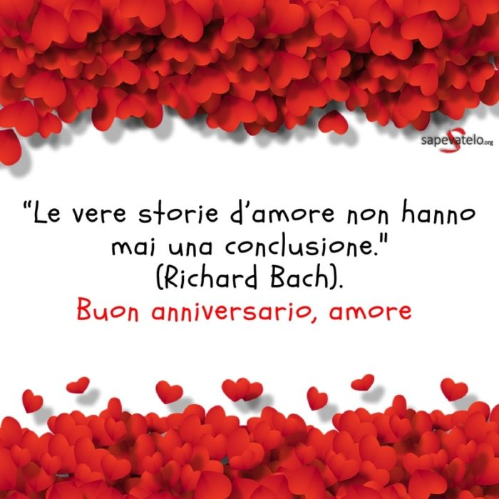 buon anniversario amore mio