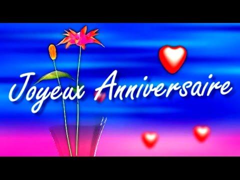 buon anniversario in francese