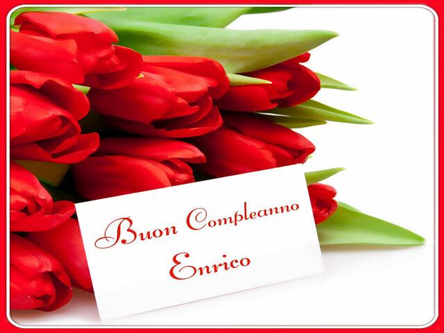 buon compleanno Enrico11