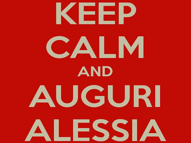 auguri Alessia