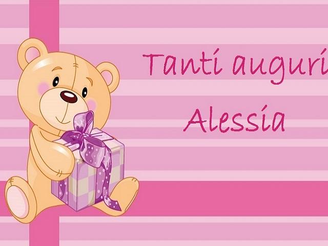 buon compleanno Alessia