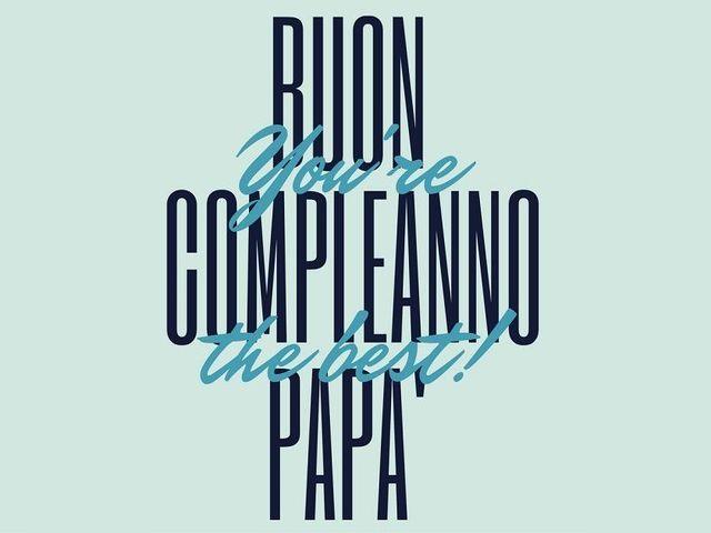 buon compleanno papa' frasi