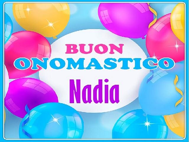 buon onomastico Nadia 4