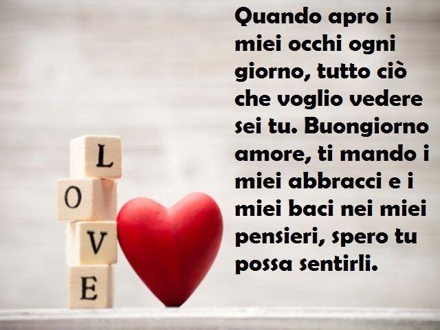 buongiorno con amore