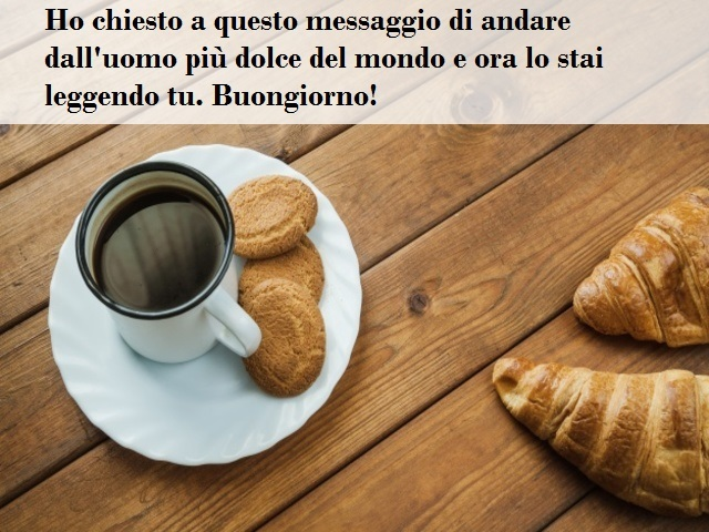 colazione buongiorno amore
