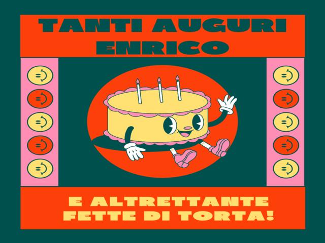 compleanno Enrico