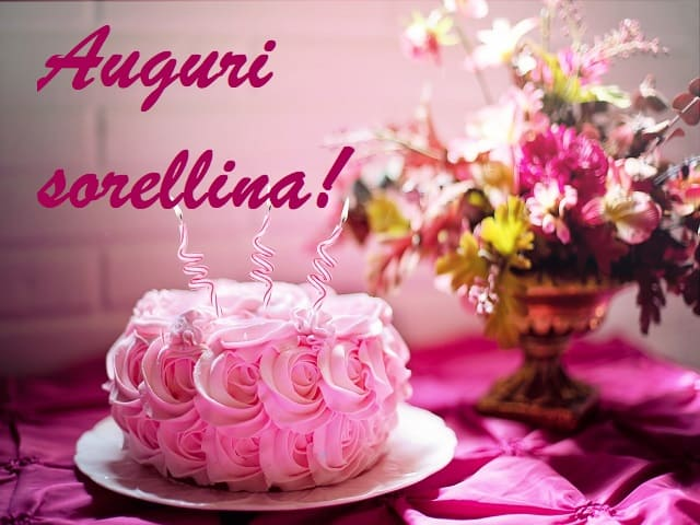 Famoso Buon compleanno sorella: frasi e immagini per sorelle più belle da OD17