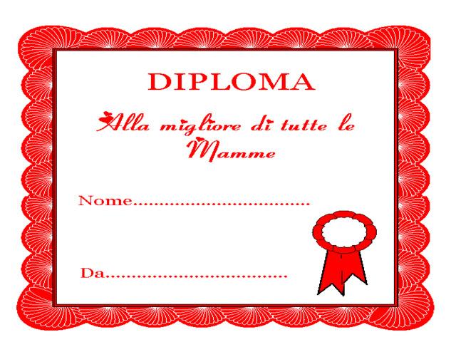 diploma mamma